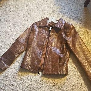 Wilson's vintage leather blazer